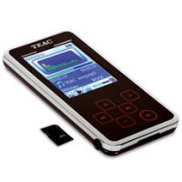 - TEAC MP3 player MP255 8GB FM SD slot