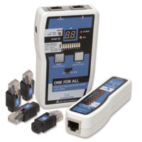 - Testovanie siete - TCT-400 ONE for ALL Tester